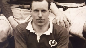 Liddell jako reprezentant Szkocji w rugby