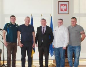 Severun Surnuk, Oleg Hryniv, Marian Orlikowski, Jacek Wierzbicki, i Grzegorz Pliszka