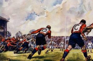 1931, mecz Walia Anglia, walijczycy z literami